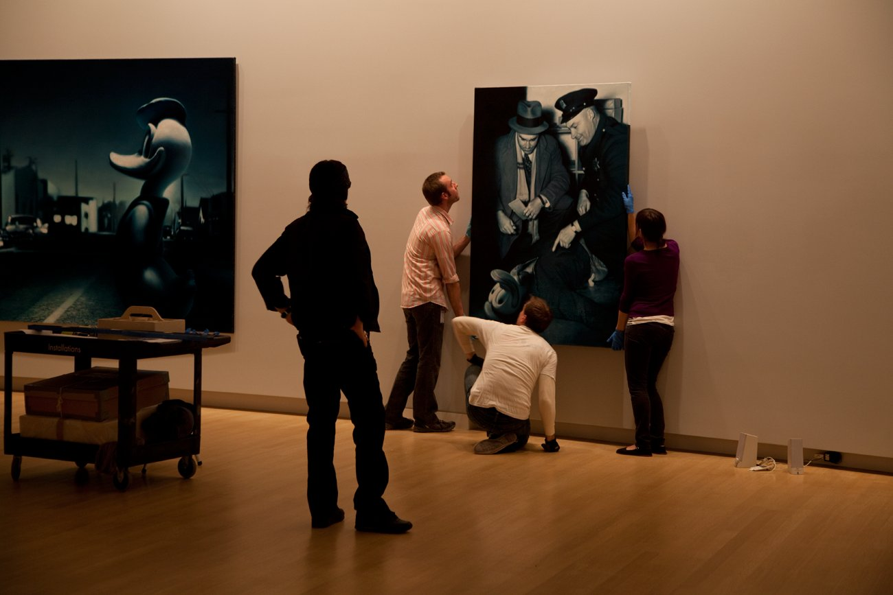 """Opening of """"Inferno of the innocents"""" at the Crocker Art Museum Sacramento"""