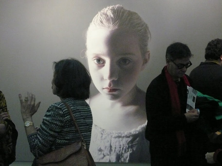 Gottfried Helnwein, The Murmur of the Innocents 3 at Friedman Benda, Armory, NY