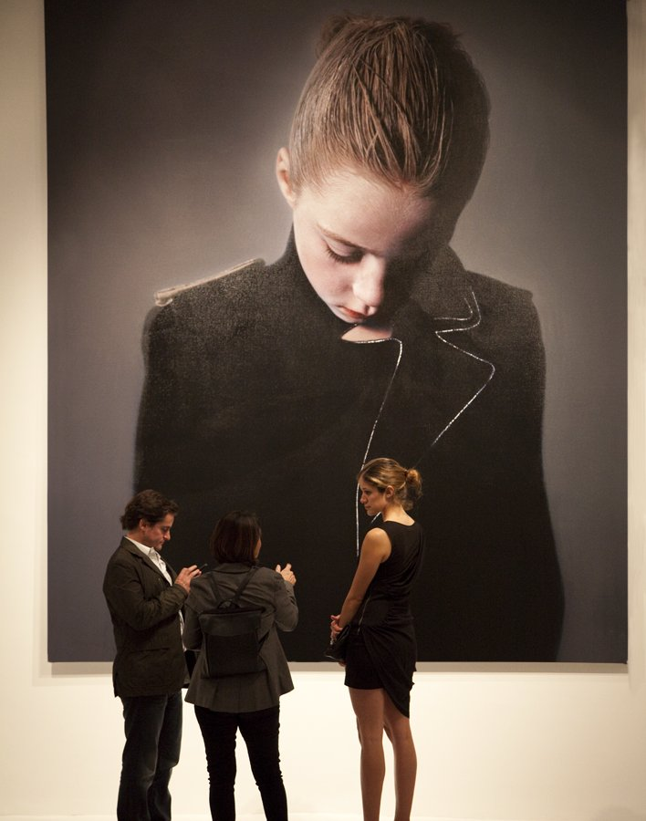 opening of the Helnwein Solo Show
