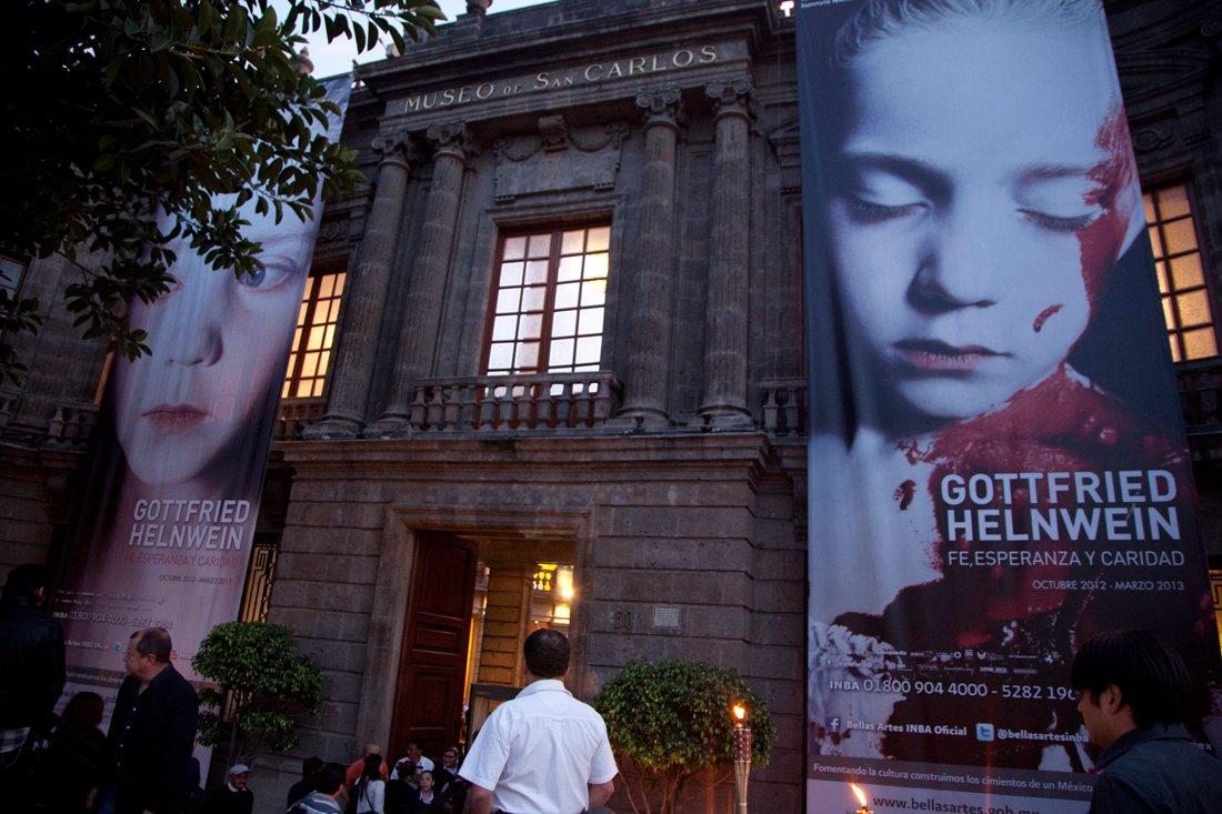 The Museo Nacional de San Carlos, Mexico City
