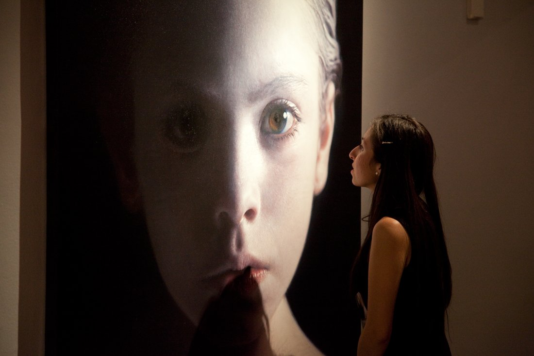 Helnwein-Retrospective at the Museo Nacional de San Carlos, Mexico City