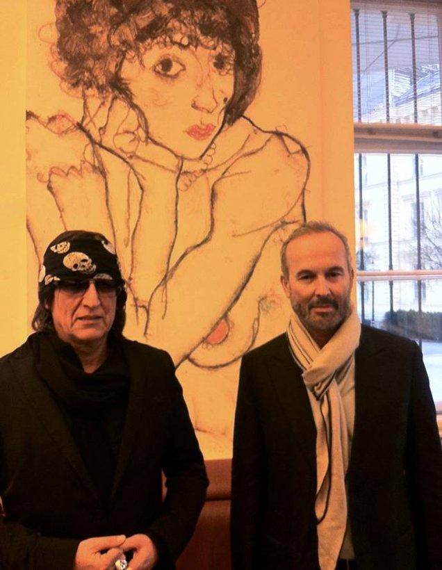 Gottfried Helnwein und Erwin Wurm