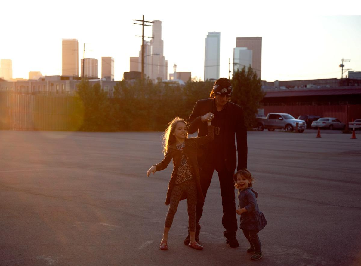 Gottfried Helnwein with Croí and Éala