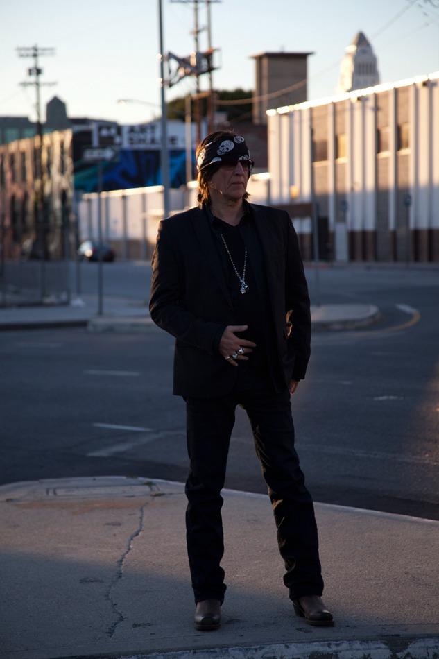 Gottfried Helnwein in downtown Los Angeles