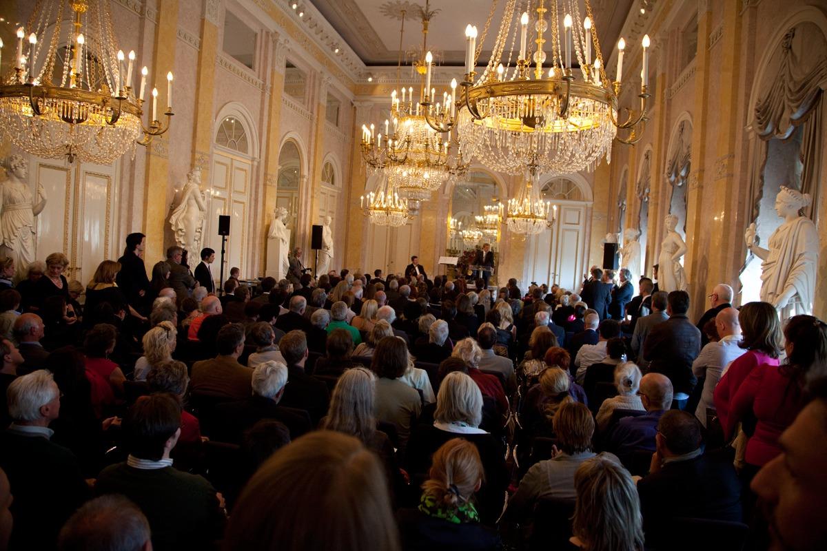 Opening of the Helnwein-Retrospective at the Albertina Museum Vienna