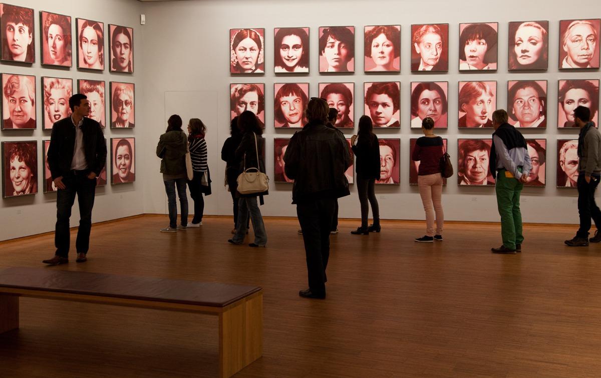 Helnwein-Retrospective at the Albertina Museum Wien