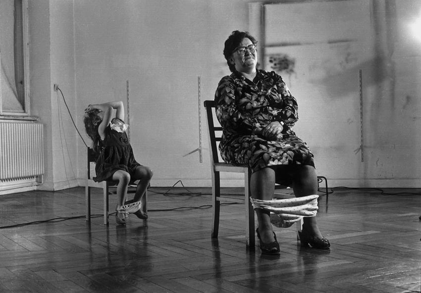 "Scene from the TV film ""Helnwein"""