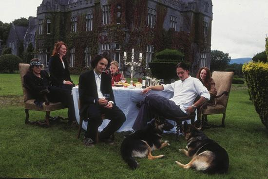 The Helnwein family at home