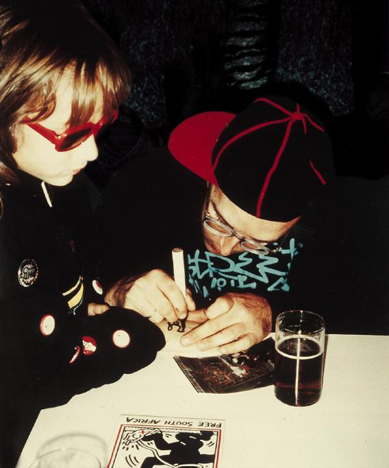 Ali Helnwein and Keith Haring