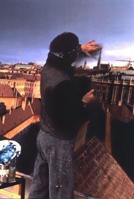 """Helnwein works on """"Vienna"""""""