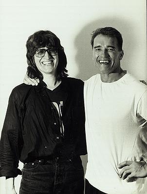 Arnold Schwarzenegger, Gottfried Helnwein