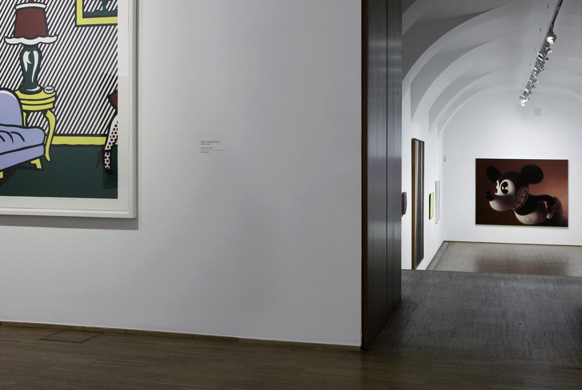 """Roy Lichtenstein, Gottfried Helnwein, """"Warhol bis Richter"""", Albertina Museum, Wien"""