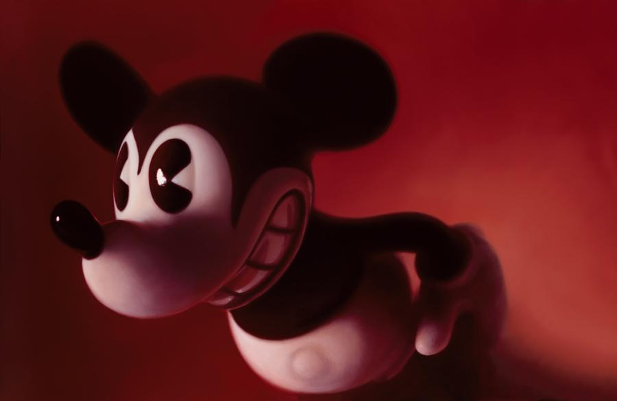 """Gottfried Helnweins legendäre Mickey Mouse """"Mouse XI""""."""