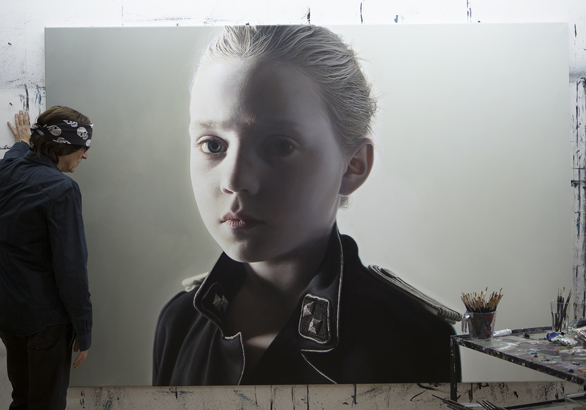 Helnwein and 'Disasters of War 54'