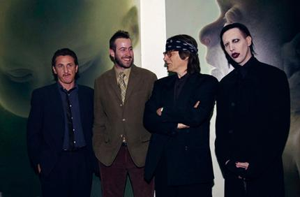 Sean Penn, Jason Lee, Gottfried Helnwein, Marilyn Manson
