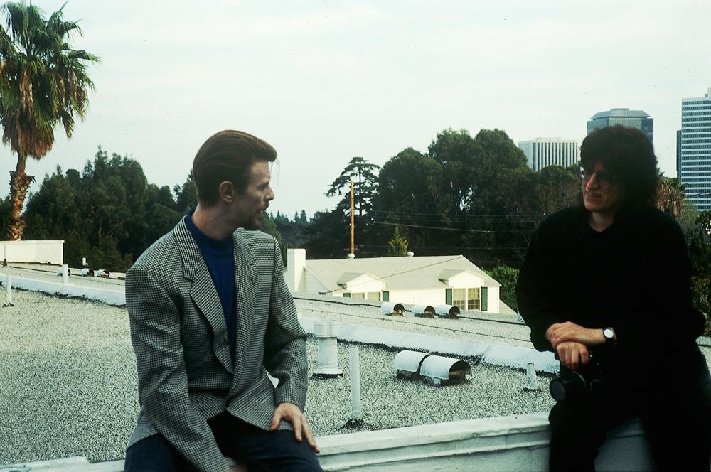 David Bowie, and Gottfried Helnwein, Los Angeles