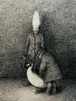 Gottfried-Helnwein-Zeichnungen-zu-Poe