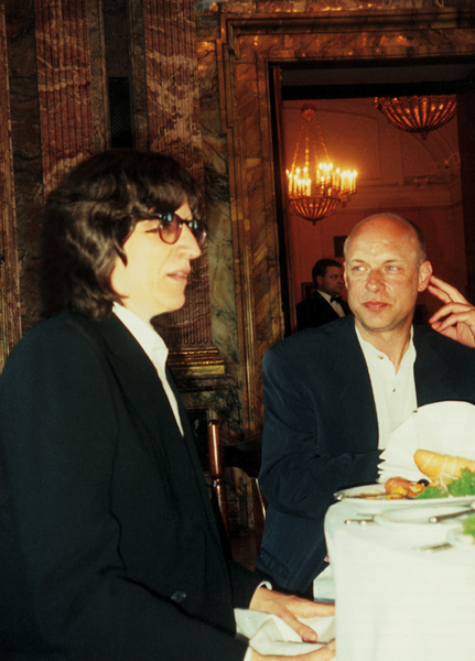 Gottfried Helnwein and Brian Eno