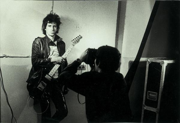 Helnwein photographs Keith Richards