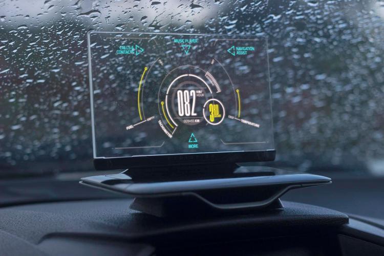 uniek auto display exploride