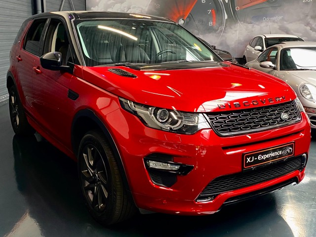Land Rover Discovery Sport uit 2018