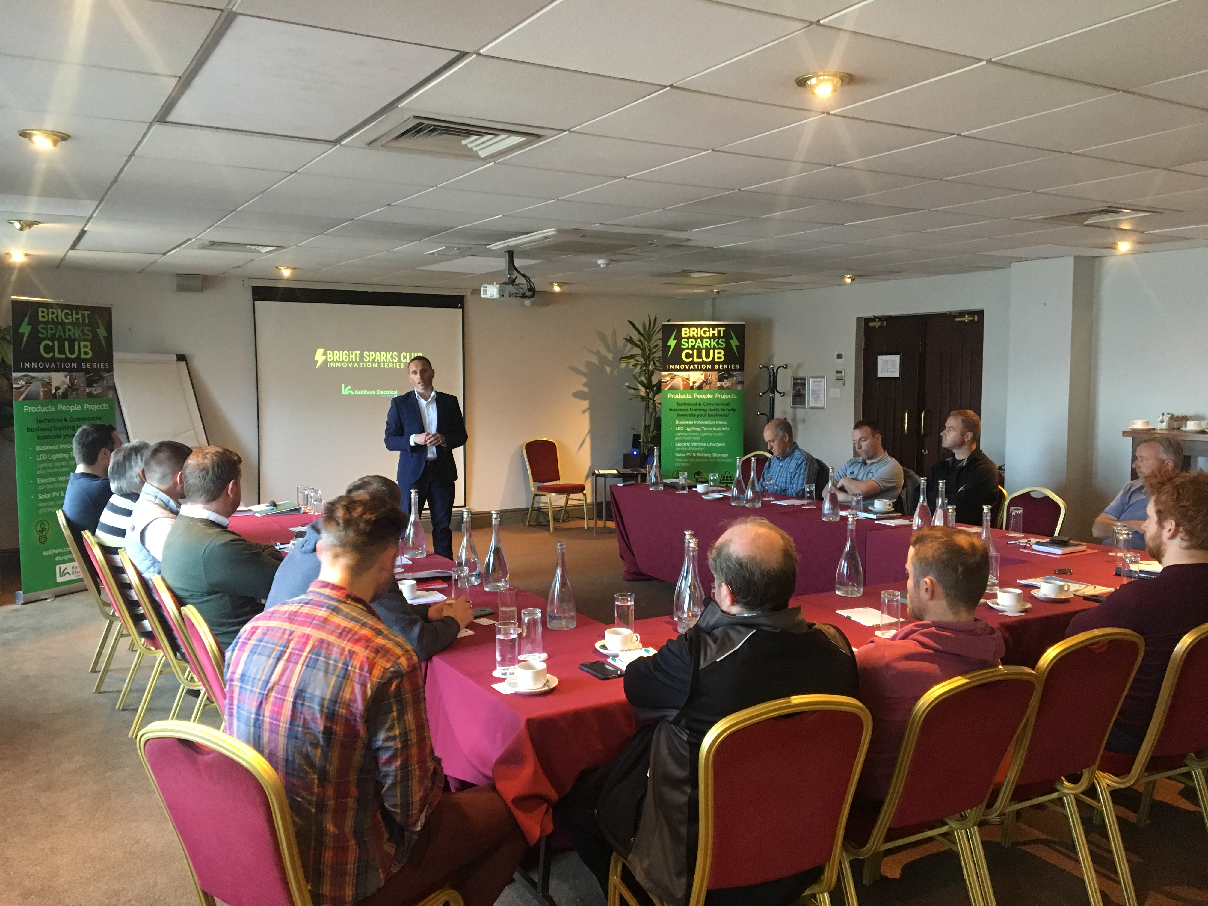 """Inaugural """"Bright Sparks Innovation Series"""" in Dublin a great success"""