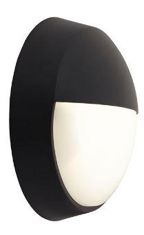 Helder Circular bulkhead - Black eyelid