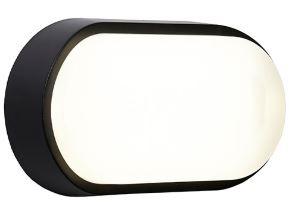 Helder Oval bulkhead - Black