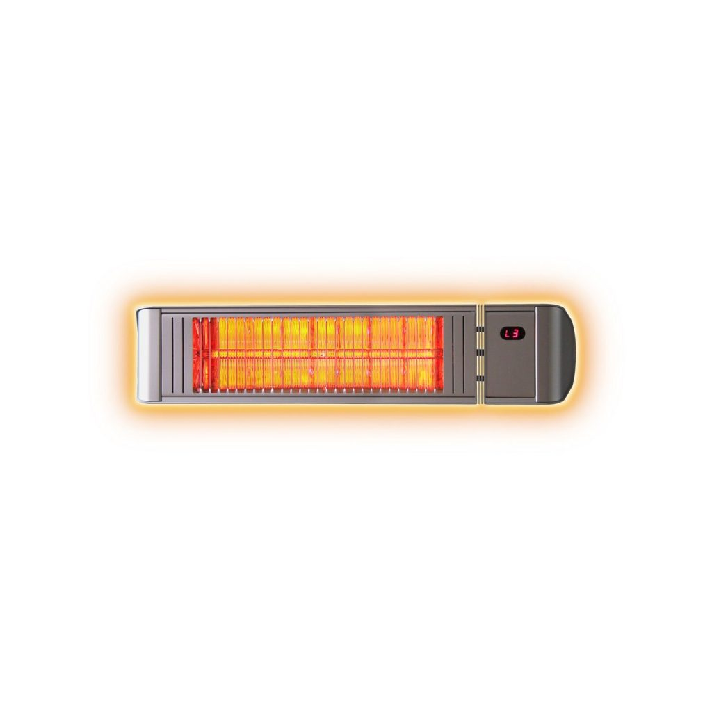 1.5KW Infrared Patio Heater with Remote Control