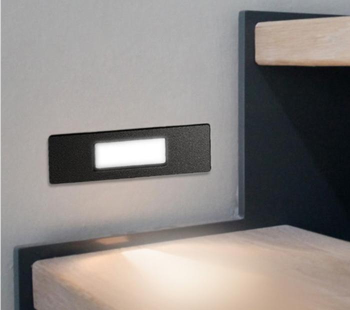 NINA 150 RECESSED BLACK LED