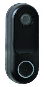 Robus doorbell connect wifi 1080p camera IP44 black