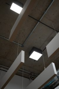 Vibia Structural ceiling lighting