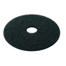 3M ECONOMY FLOOR PAD GREEN 17 INCH PACK OF 5