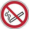 BRADY 821998 ISO SAFETY SIGN NO SMOKING