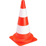 GISS 868017 SIGNALLING CONE PVC 75CM ORANGE/WHITE