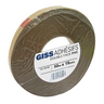 GISS 633581 DOUBLE SIDED PVC TAPE WIDTH MM 19