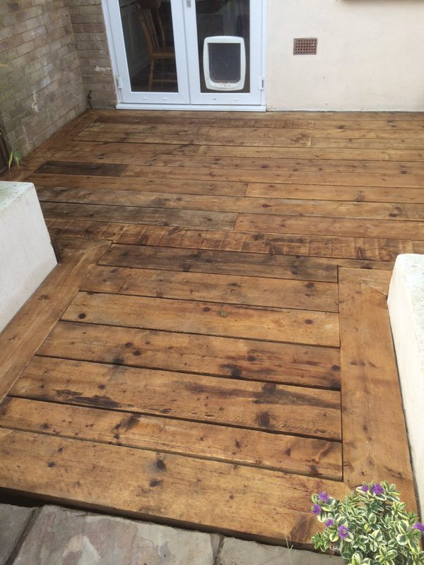 Upcycled scaffold board project 39 s top five enviromate for Reclaimed decking boards