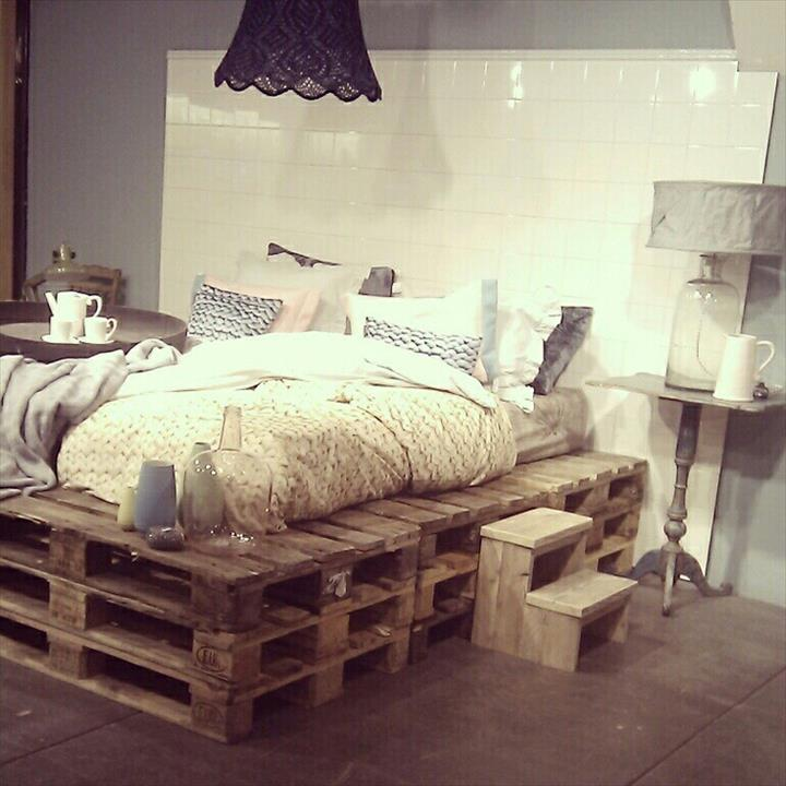 Top 20 Recycled Pallet Bed Frames Enviromate