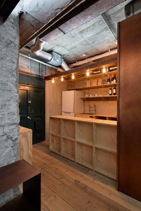 Suppose Design Office's Tokyo studio mixes concrete, steel and