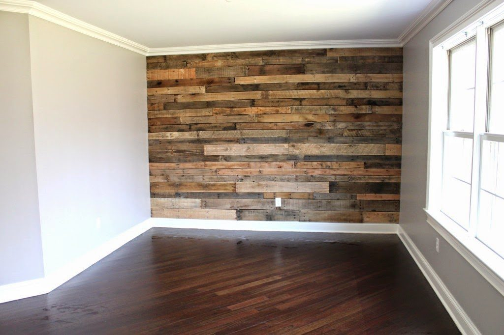 Pallet Accent Wall Bedroom