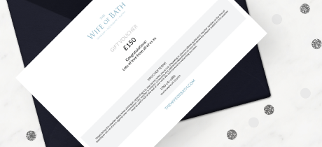 Gift Vouchers at The Wife of bath