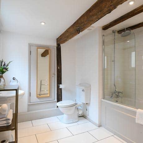 Shower in the en suite