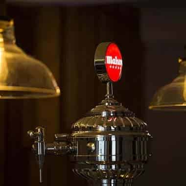 Mahou on tap