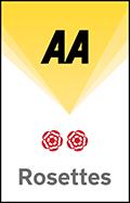 AA Award - 2 rosettes