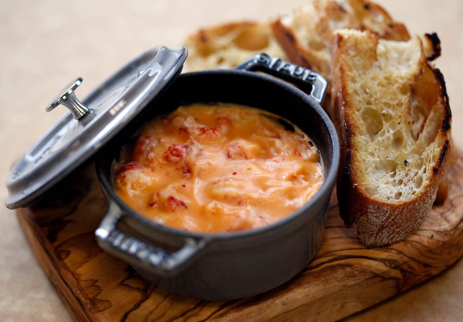 Potted seafood