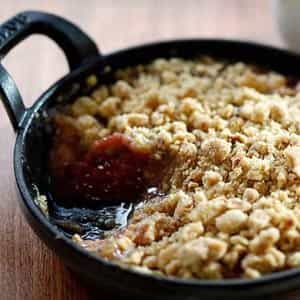 Warming crumble