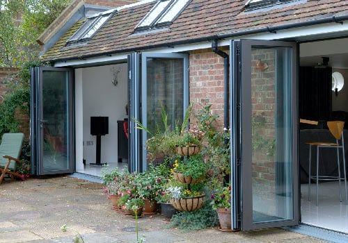 Bifold doors | Opening up entire facades