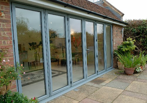 Bifold doors   Fitted by TPS Windows in Kent