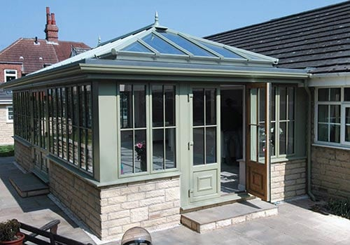 Conservatories from Ultraframe | Nine colours to choose from