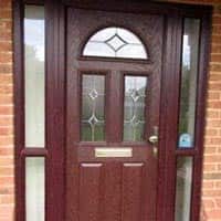 TPS | Recently fitted traditional front door